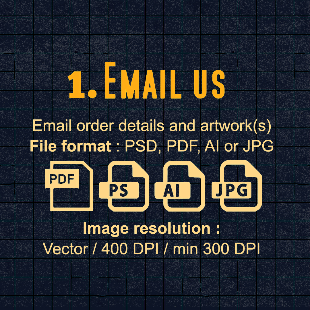 1) Email Us