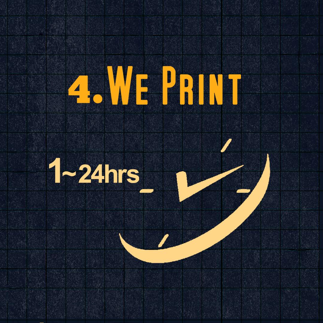 4) We Print