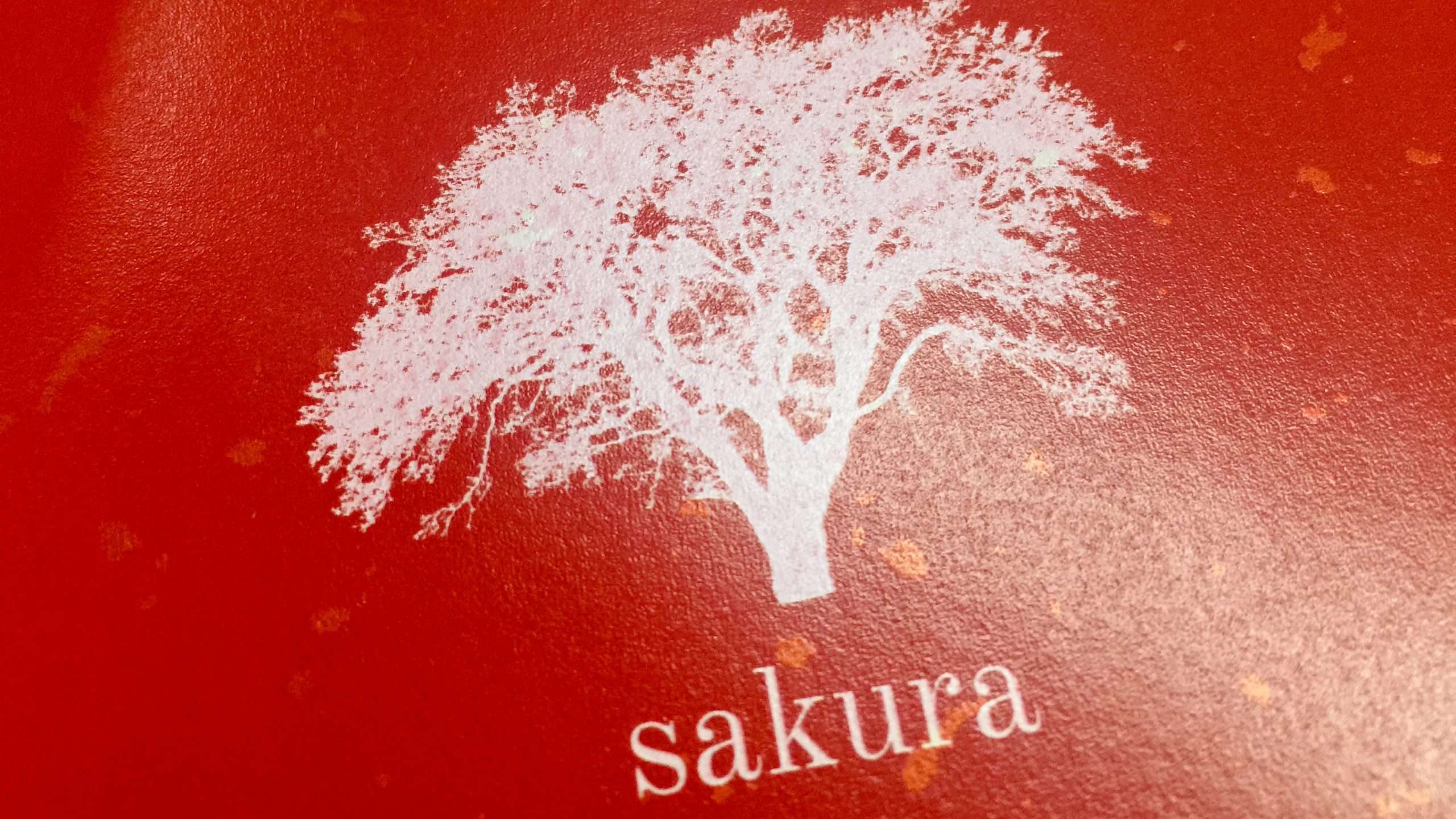 sakura tree red